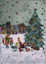 LukaPC* LAG-2340 動物たちのクリスマスツリー 45