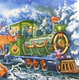 XS中 X01 DLX-006801 Santa with Train