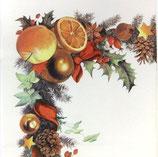 テーブルクロス 110-417 Weihnachtskranz