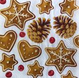 X'mas4中 X11 TL881000  クリスマス クッキーと松ぼっくり