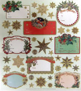 Stickers 42-59X90018 CHRISTMAS TAGS