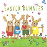 イースターD・小 F86 C100212 Easter Bunnies