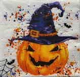ハロウイン中 F92 SDOG030801 Creepy Pumpkin With Splashes