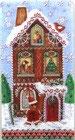 ゲストタオル PU-53673 Gingerbread Houses
