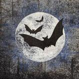 ハロウイン中 F92 193636 Moon and Bats