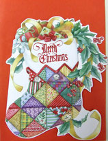 Carol Wilson Christmas *CRGBX196 クリスマスブーツ 赤封筒付   9