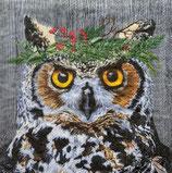 X'mas6中 X23 1334120 Winter Berry Owl  小サイズもあり