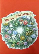 Carol Wilson Christmas *CRGBX189 リース 赤封筒付   7