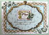 Photo Frame Greeting Card PINK-287