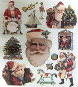 Stickers 42-CS15 Santas