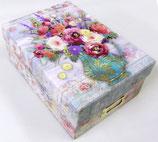 PS Photo Storage Box *42728 「Fresh Flowers 」