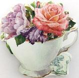 ST ポストイット LD-28155 「ティーカップの薔薇」