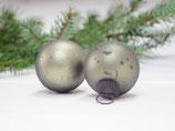 Kugel Weihnachtsbaum grün, Vintage