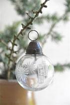 JDL Weihnachtskugel Glas