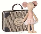 Maileg Maus mit Koffer