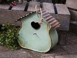 Vogelhäuschen Vintage grün