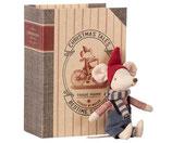 Maileg Weihnachtsmaus mit Buch - Big brother