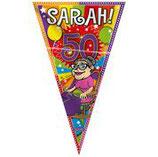 Mega vlag  Abraham / Sarah