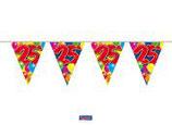 Vlaggenlijn Balloons 25 jaar 10mtr