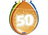 Ballonnen 30cm 50 jaar