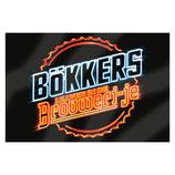 Vlag Bökkers leaven in de Brouweri-je