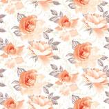 Tischdecke Rosalie aprikot  - 78487