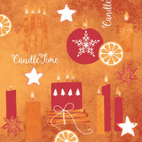 Servietten Airlaid - CANDLE TIME 88989