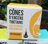 Tibetaanse wierook cones Calming