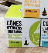 Tibetaanse wierook cones purifying/evenwicht