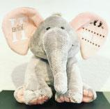 Personalisierte Baby Elefant ROSA