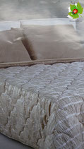 Trapunta piumone invernale Laura Blasi matrimoniale con due cuscini. A753