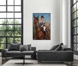 Kunden Malerei vom Foto - benutzerdefiniert