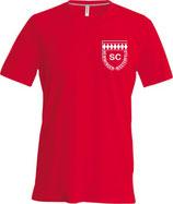 V T-Shirt SC Hemmingen rot