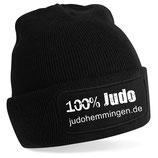 Beanie SC Hemmingen Judo schwarz