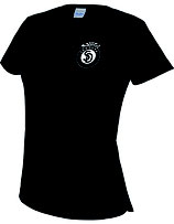 Sandokai Atmungsaktives T-Shirt Damen Schwarz