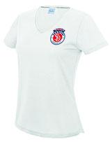 Sandokai Atmungsaktives T-Shirt Damen Weiß