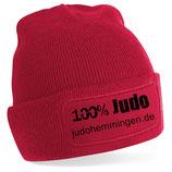 Beanie SC Hemmingen Judo rot