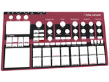 Xtribe Sampler Red - Instrument Overlay