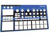 Xtribe Synth Blue - Instrument Overlay
