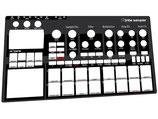 Xtribe Sampler Black - Instrument Overlay