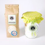 Apfelkuchen • Backmischung • glutenfrei + vegan