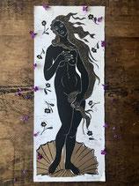 "Linocut Print - ""Venus"""