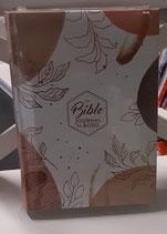 Bible Journal de bord , couverture toile imprimée