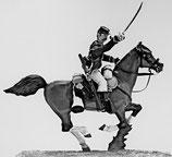 ACW Cavalry on Running Horse