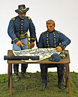 ACW C-233 General McClellan Grouping