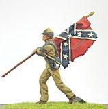 ACW C-107 Confederate Flag Sergeant
