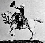 REV S-58 General George Washington on standing horse