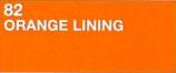 Humbrol Orange Lining Matte