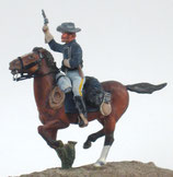 NIN C-12 American Cavalry Officer on mount