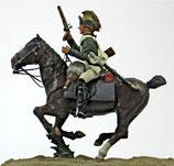REV 85-15 Trooper, pistol upraised